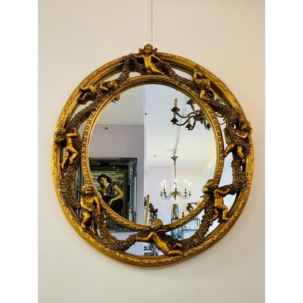 """Овално огледало """"Angels"""""""