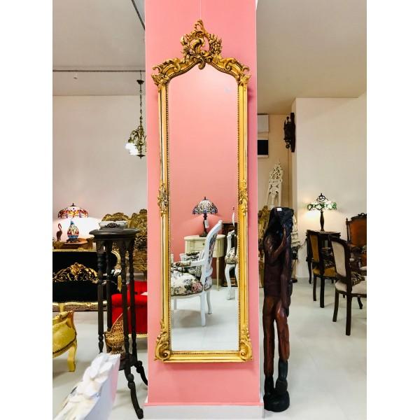 Високо златно огледало - Рококо