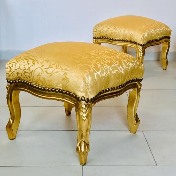 Табуретка - Класик (златно / златно)