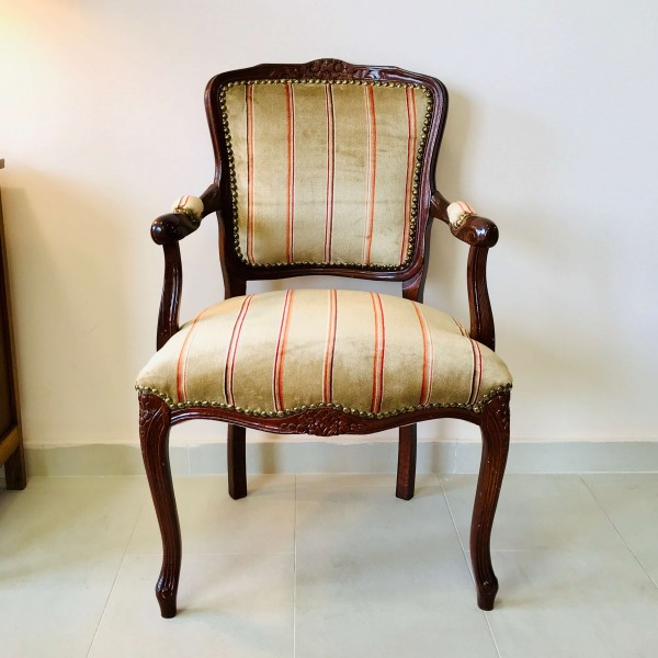 """Старинно кресло """"Английско райе"""""""