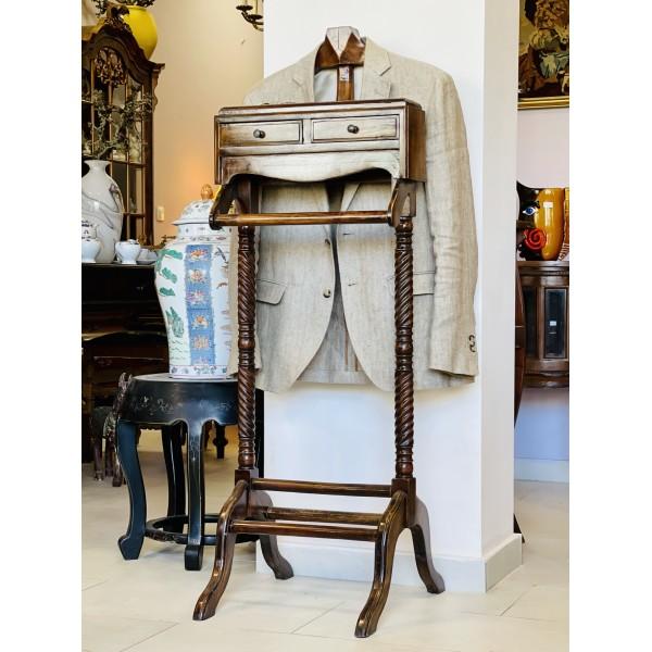 Щендер / закачалка за тоалет - (махагон)