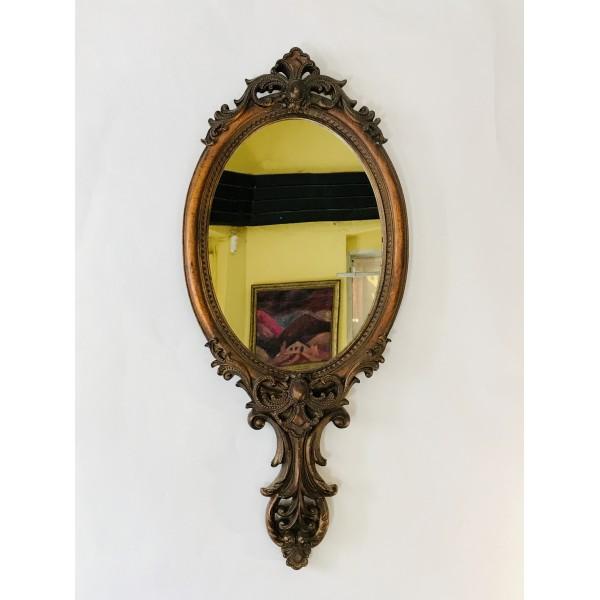"""Малко огледало за стена """"Рококо"""""""