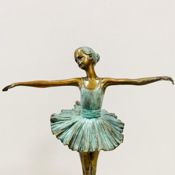 Бронзова пластика - Балерина