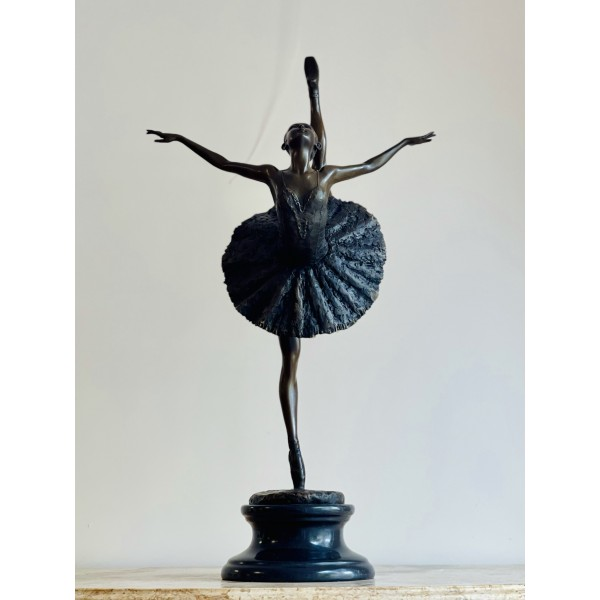 Бронзова пластика - Балерина (Дега)