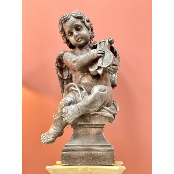 Декоративна фигура - Ангелче с лира