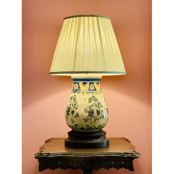 """Порцеланова лампа  """"British home"""""""