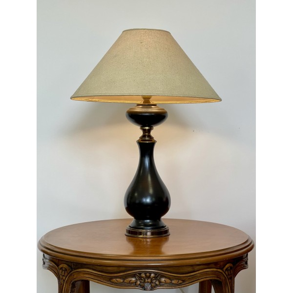 """Настолна лампа  """"Vintage black pearl"""""""