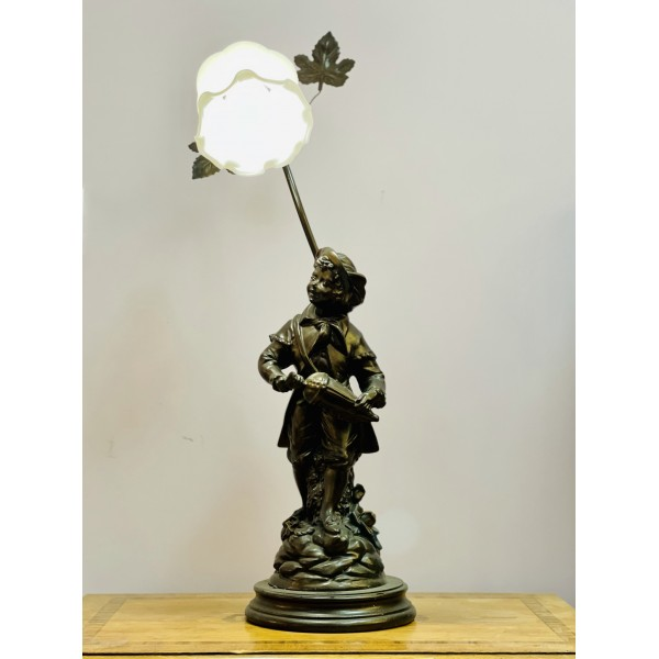 "Фигурална настолна лампа ""A little boy"""