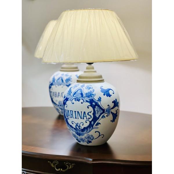 "Настолна лампа ""Antique Blue"""