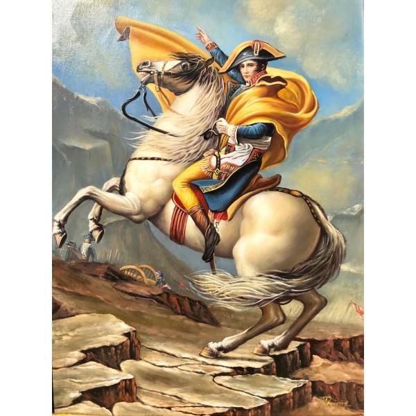"""Картина """"Наполеон на прохода Сан Бернар"""""""