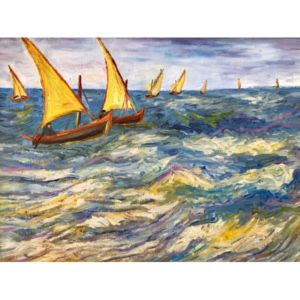 "Картина ""Море в Сент- Мари"" (Винсент ван Гог)"