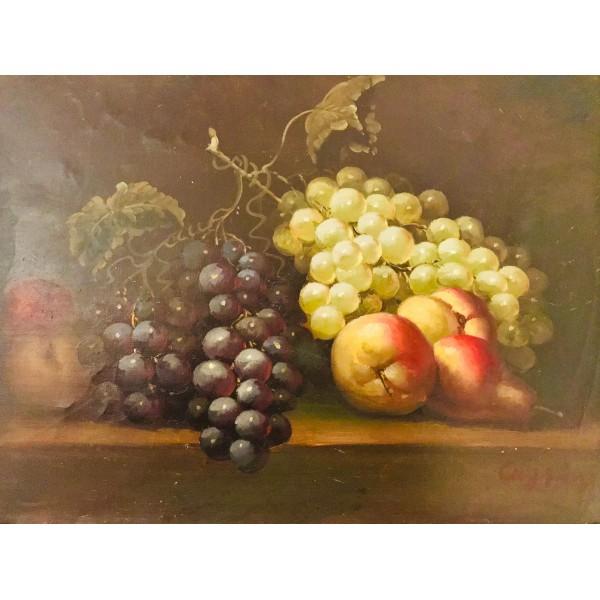 Малка картина - Натюрморт с плодове