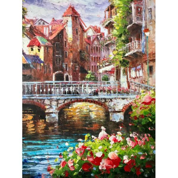 "Картина ""Old Amsterdam"""