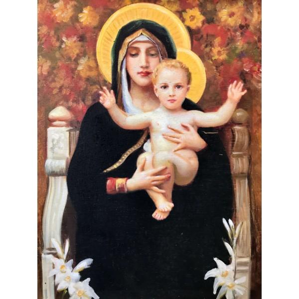 """Картина """"Мадоната на лилиите"""" (Бугеро)"""