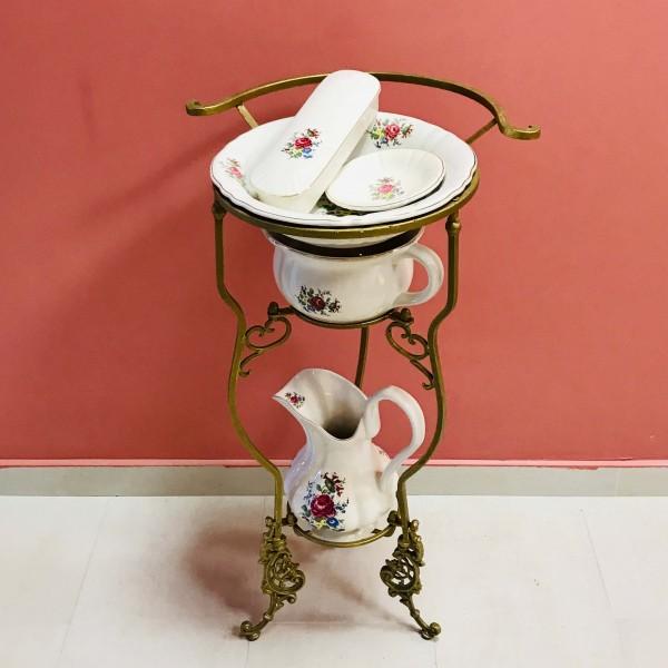 """Английски комплект за баня """"Staffordshere"""" (Роза)"""