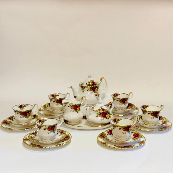 "Сервиз за чай и кафе ""Old County Roses"" - Royal Albert"