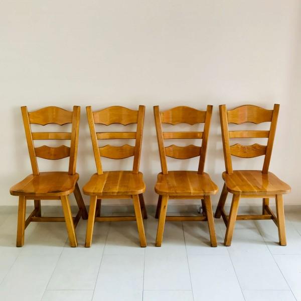 4 бр. Трапезни столове - Бавария