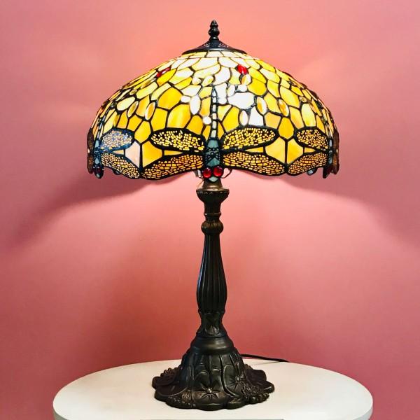Настолна лампа - Водно конче (Gold)