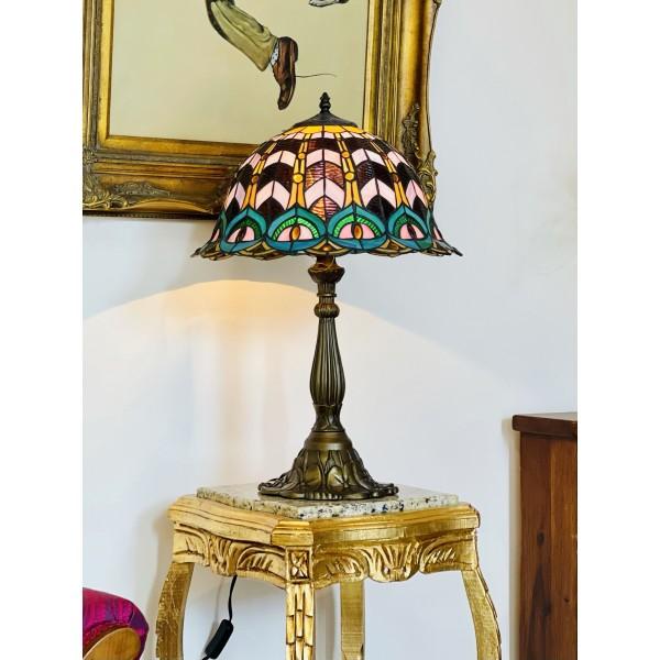 Настолна лампа - Паун